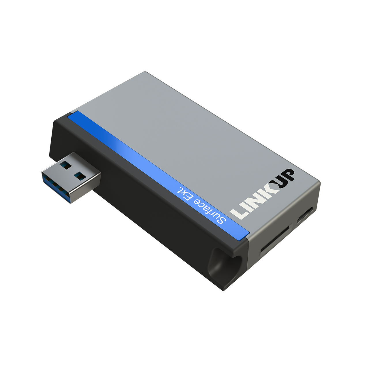 SanFlash PRO USB 3.0 Card Reader Works for RED Hydrogen One Adapter to Directly Read at 5Gbps Your MicroSDHC MicroSDXC Cards