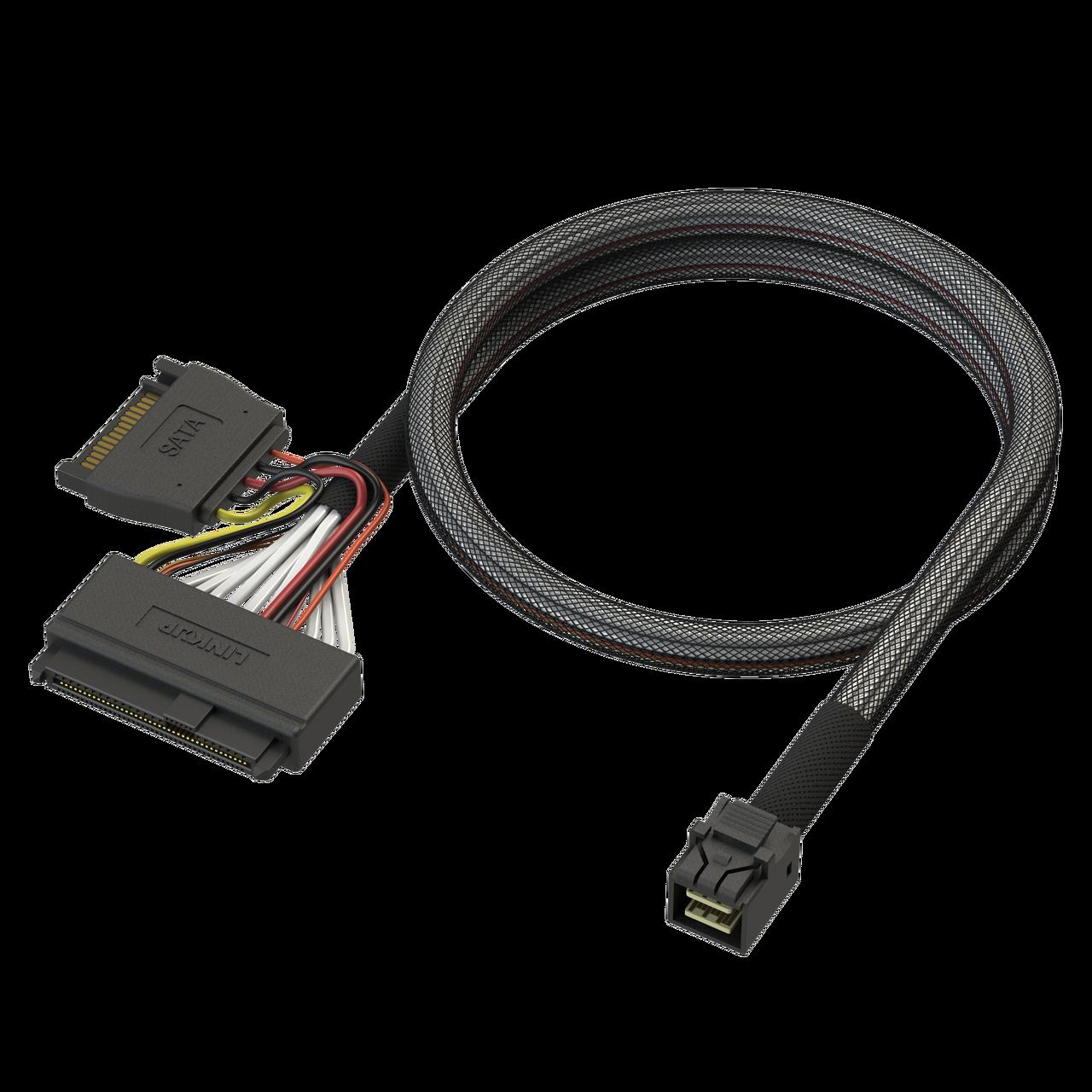 Internal 36 Pin Mini SAS HD SFF-8087 Male to SFF-8087 Mini SAS ...
