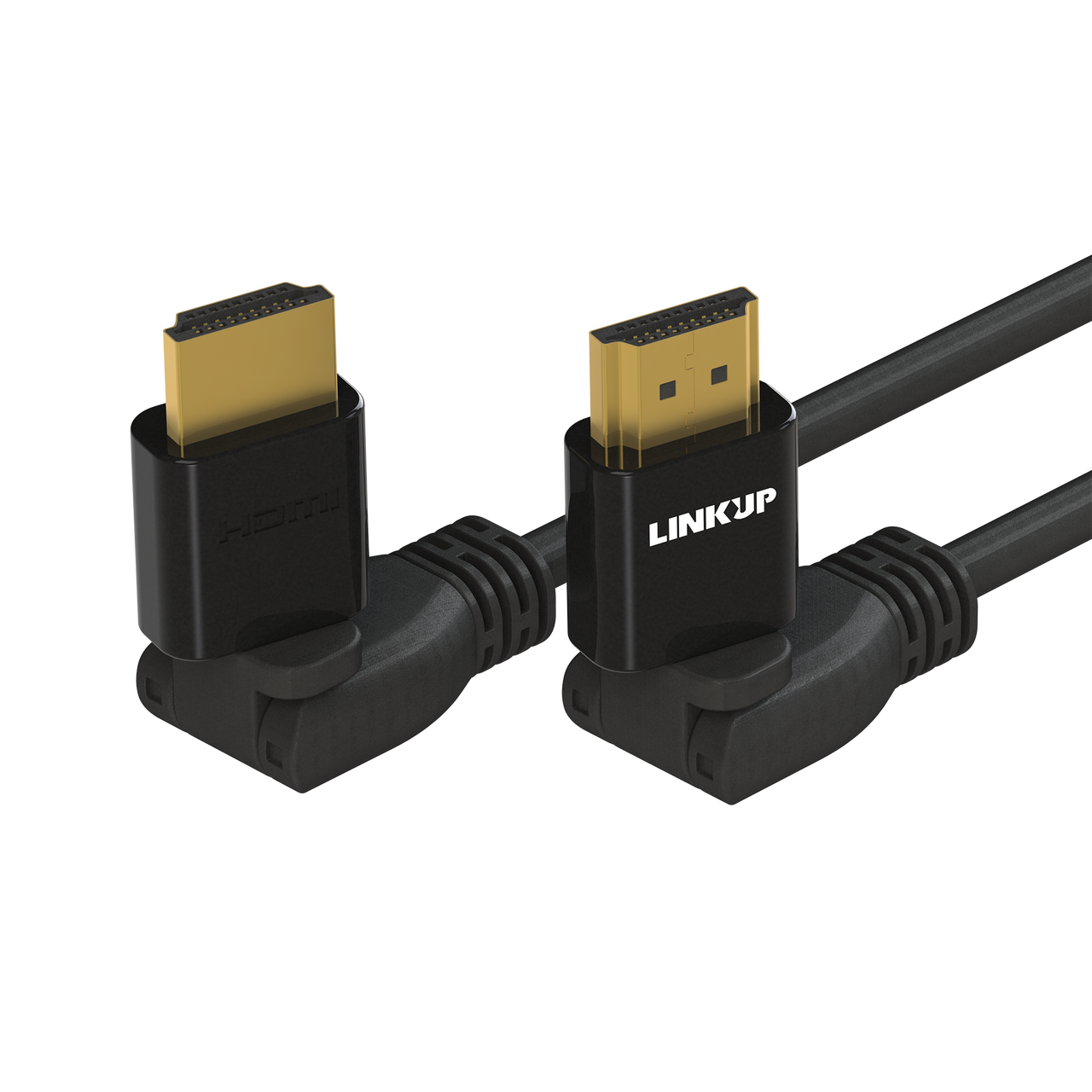 [LINKUP] HDMI 4K Cable Ultra HD 360° Angle Swivel Digital Video Cord -  Heavy Duty 28AWG - Extreme High Speed 18GB/s | 4096 x 2160 | Compatible  with