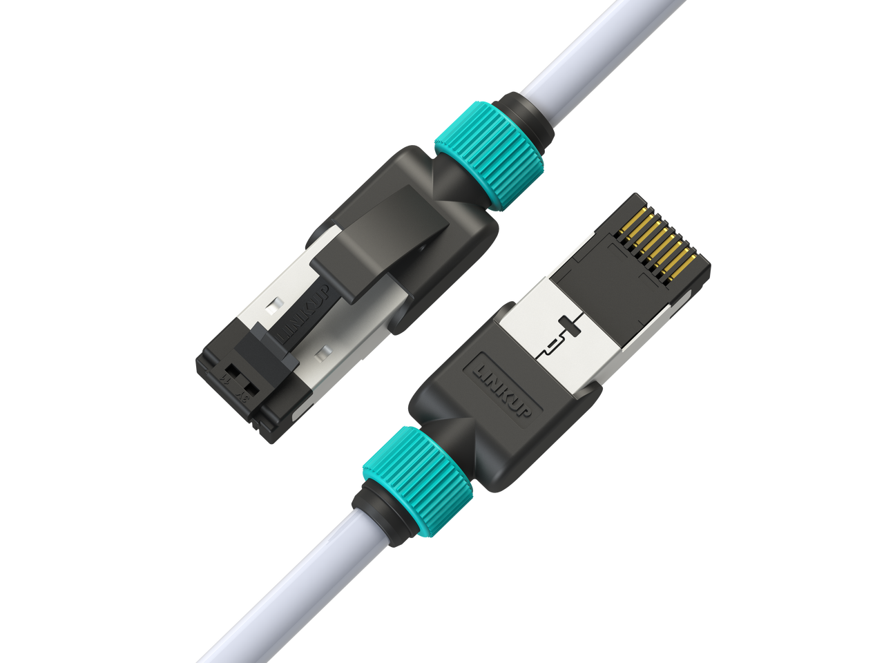LAN Cables Ethernet Cable/&Connector 15m Gold Plated CAT-7 10 Gigabit Ethernet Ultra Flat Patch Cable for Modem Router LAN Network Dfstgwgds Computer Cables Built with Shielded RJ45 Connector