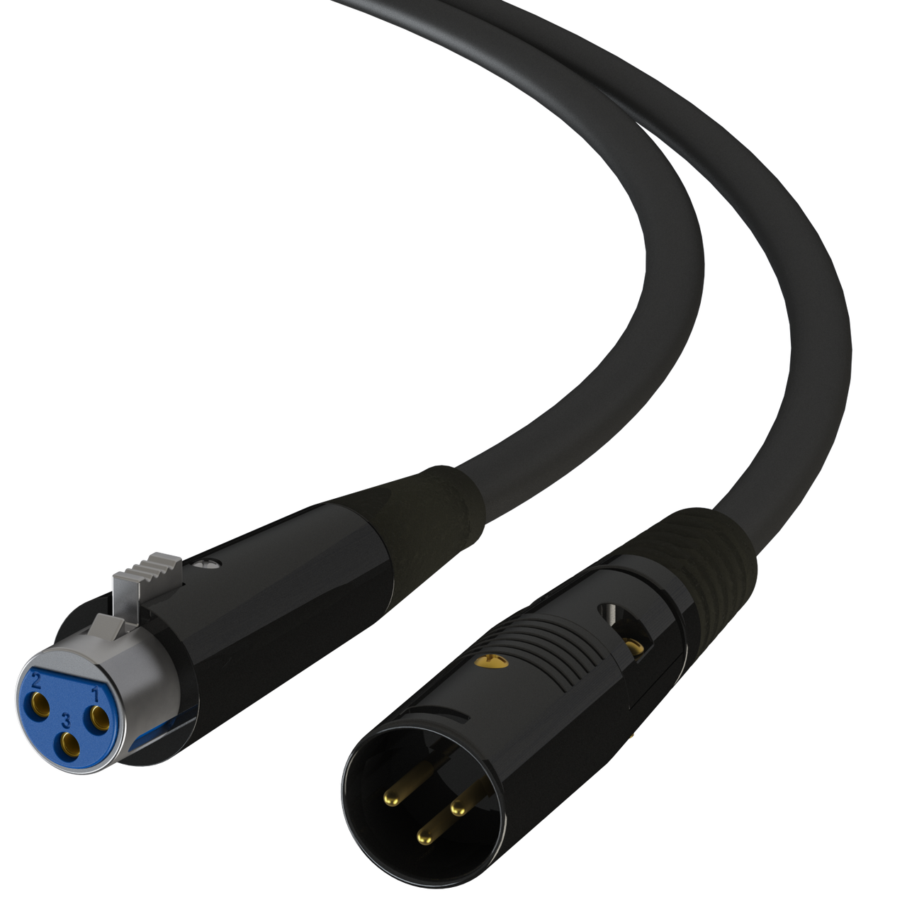 XLR Male to Female Pro-Audio Balanced Cable for Microphone /& Interconnect Cord