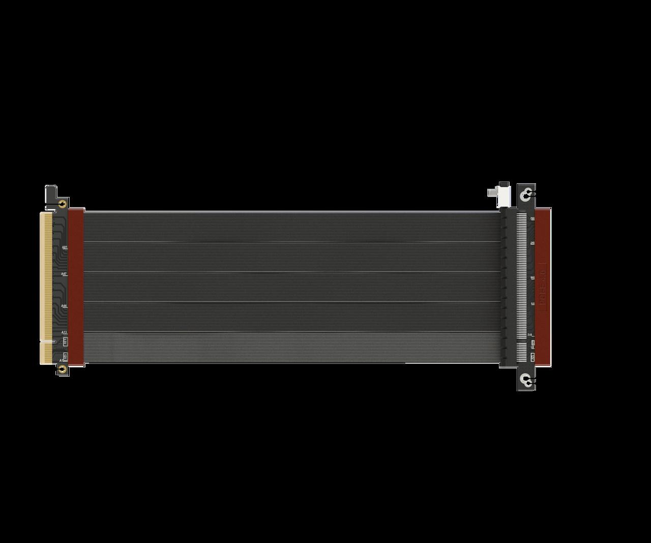 x570 RX5700XT Probado Vertical Especial Doble Eje S/úper Blindado Gen4 Ultra PCIe 4.0 X16 Tarjeta Extensi/ón Cable Elevador Conector 180 Grados {25 cm} PCI Express 3.0 Gen3 y TT Compatible LINKUP
