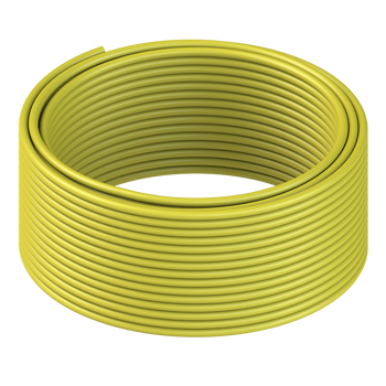 LINKUP - Cat8 Ethernet Cable S/FTP 22AWG Screened Solid Cable | 2000Mhz (2Ghz) up to 40Gbps | Future 5th-Gen Ethernet LAN Network 40G Structure Wires - |Yellow| 50 Meter Bulk (Termination Required)