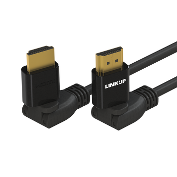 [LINKUP] HDMI 4K Cable Ultra HD 360° Angle Swivel Digital Video Cord - Heavy Duty 28AWG -  Extreme High Speed 18GB/s   4096 x 2160   Compatible with Apple Xbox PS4 PC Samsung TV - 10FT