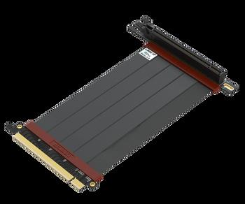 15cm - Ultra PCIe 4.0 X16 Gen4 Riser Cable | 90 Degree Socket | Gen3 Compatible
