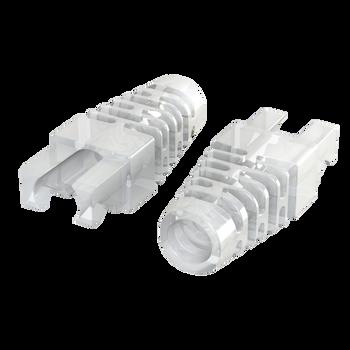 LINKUP - RJ45 Boots for Cat6 Cat5e Ethernet Snagless Connector for LINKUP Snagless Plug | 100 pcs