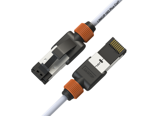 Cat7 Ethernet Patch Cable/s -3 FT (12 Pack) 10G Double Shielded S/FTP
