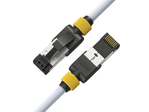 Cat7 Ethernet Patch Cable/s -5 FT (6 Pack) 10G Double Shielded S/FTP