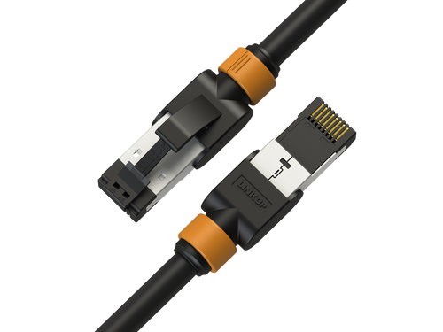 Cat7 Ethernet Patch Cable/s -3 FT (3 Pack) 10G Double Shielded S/FTP