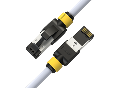 Cat 7 Ethernet Patch Cable/s -  5 FT (3 Pack) 10G Double Shielded S/FTP