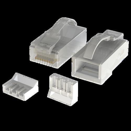 Cat6 Snagless RJ45 UTP Connectors | 8P8C |  100 Pack