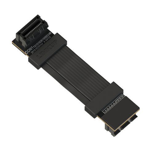 Reversed Z-Shaped SLI Bridge Premium Twin-Ax Shielded [4 cm]