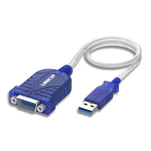 USB to Serial Cable Adapter DB9 RS232 9 Pin Converter