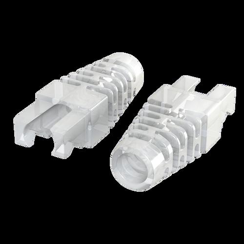RJ45 Ethernet Boots for LINKUP Snagless Plugs | 50 pcs