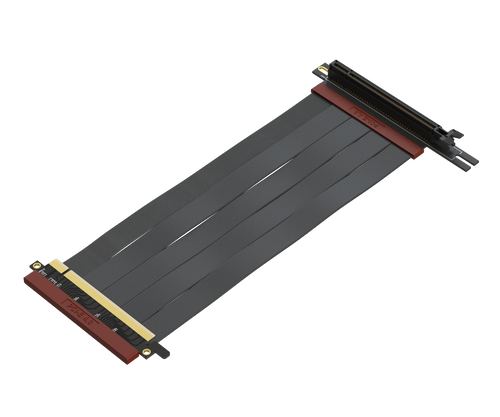 24cm - Ultra PCIe 4.0 X16 Riser Cable Extreme - 270 Degree Socket