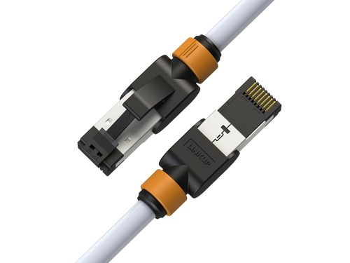 Cat7 Ethernet Patch Cable/s -  3 FT (1 Pack) 10G Double Shielded S/FTP