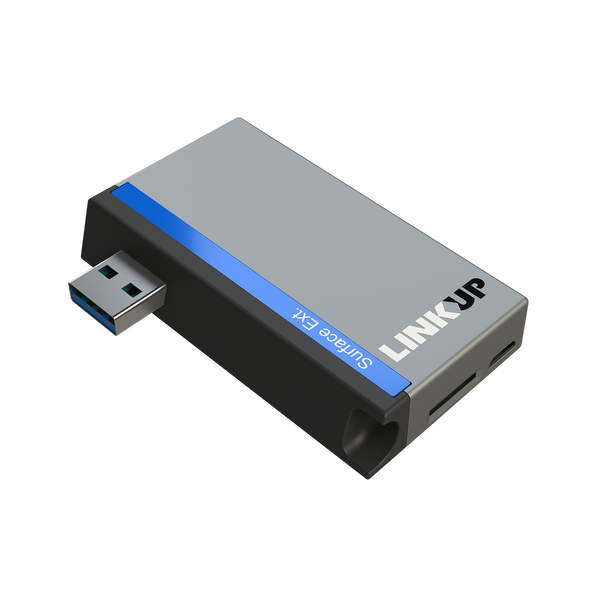 SanFlash PRO USB 3.0 Card Reader Works for Samsung E3309 Adapter to Directly Read at 5Gbps Your MicroSDHC MicroSDXC Cards