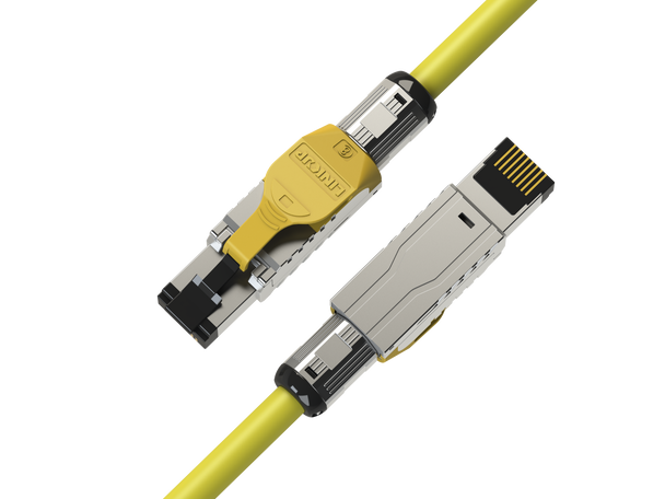 [LINKUP] Cat8 Ethernet Patch Cable S/FTP 22AWG Screened Solid Cable | 2000Mhz (2Ghz) up to 40Gbps | Future 5th-Gen Ethernet LAN Network 40G Structure Wires - 1M