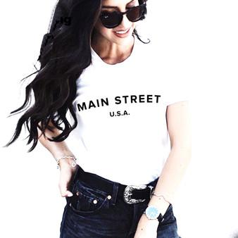 Main Street USA tee