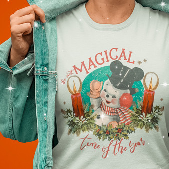 Magical Snowman Tee