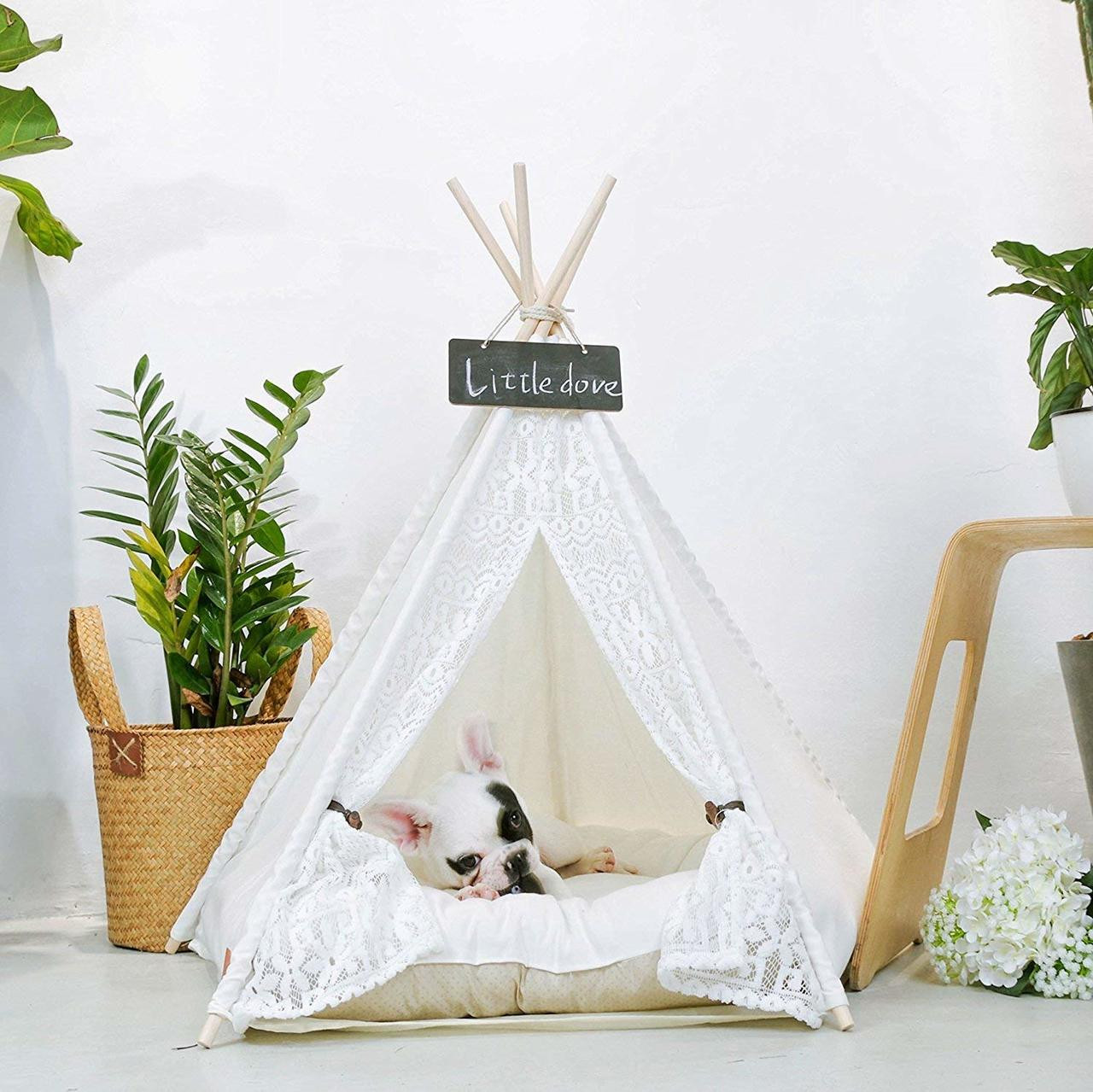 sc 1 st  Dog Clothes & Pet Teepee Dog(Puppy) u0026 Cat Bed - Portable Pet Tents u0026 Houses for Dog