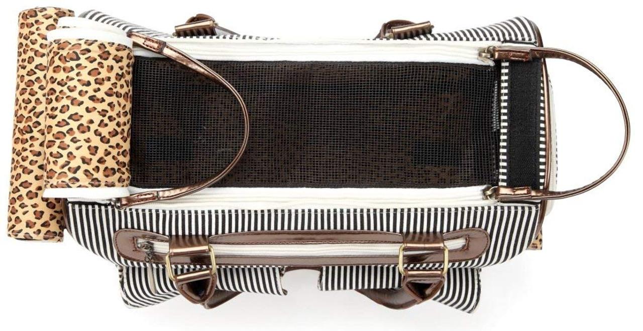 066cccb6748c7e Fashion Dog Cat Pet Carrier Bags Travel Mesh Tote Handbag