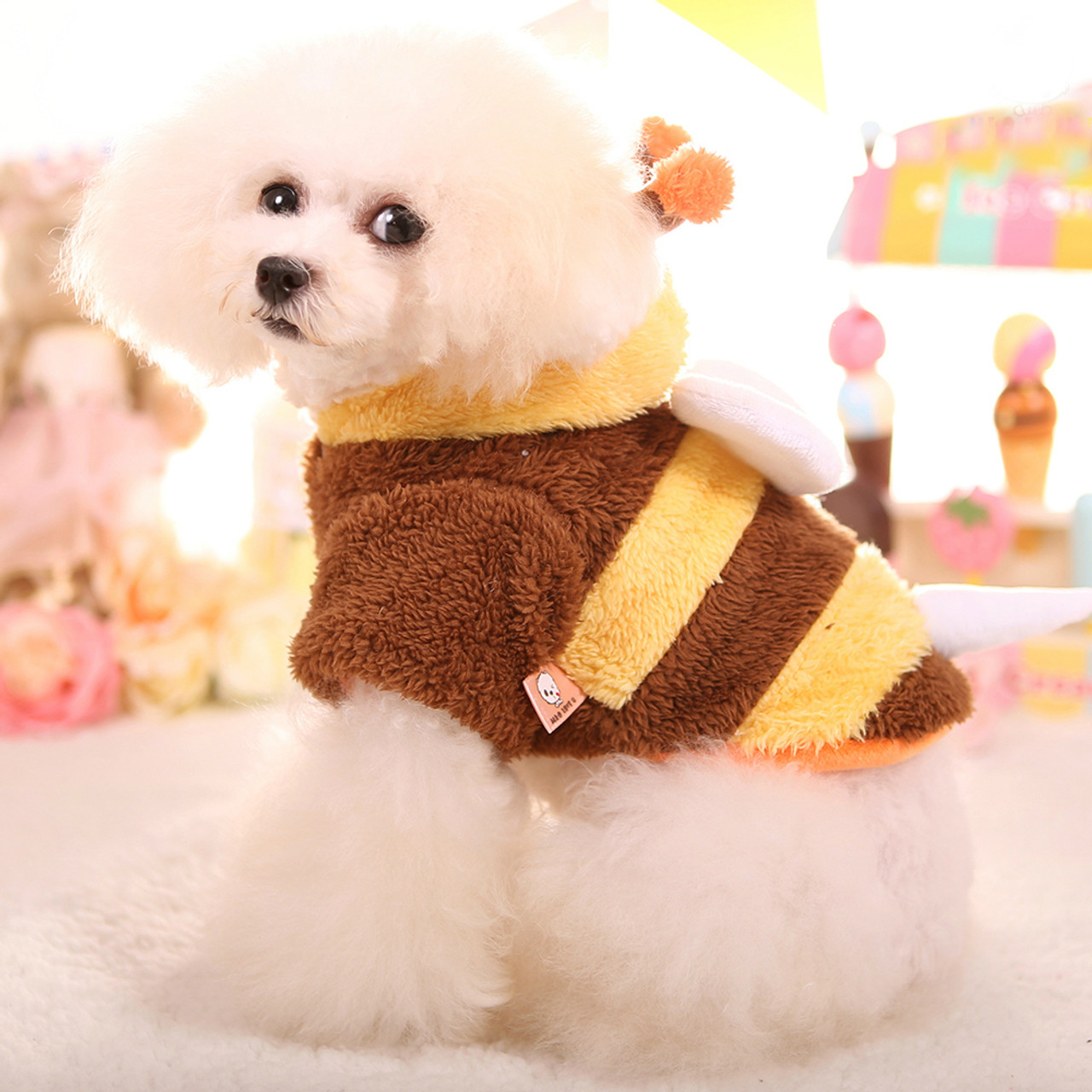 Pet Products Classic Solid Color Pet Dog Jumpsuit High Quality Thickening Warm Fleece Clothes For Dogs Winter Outdoor Windproof Puppy Costume Soft And Light