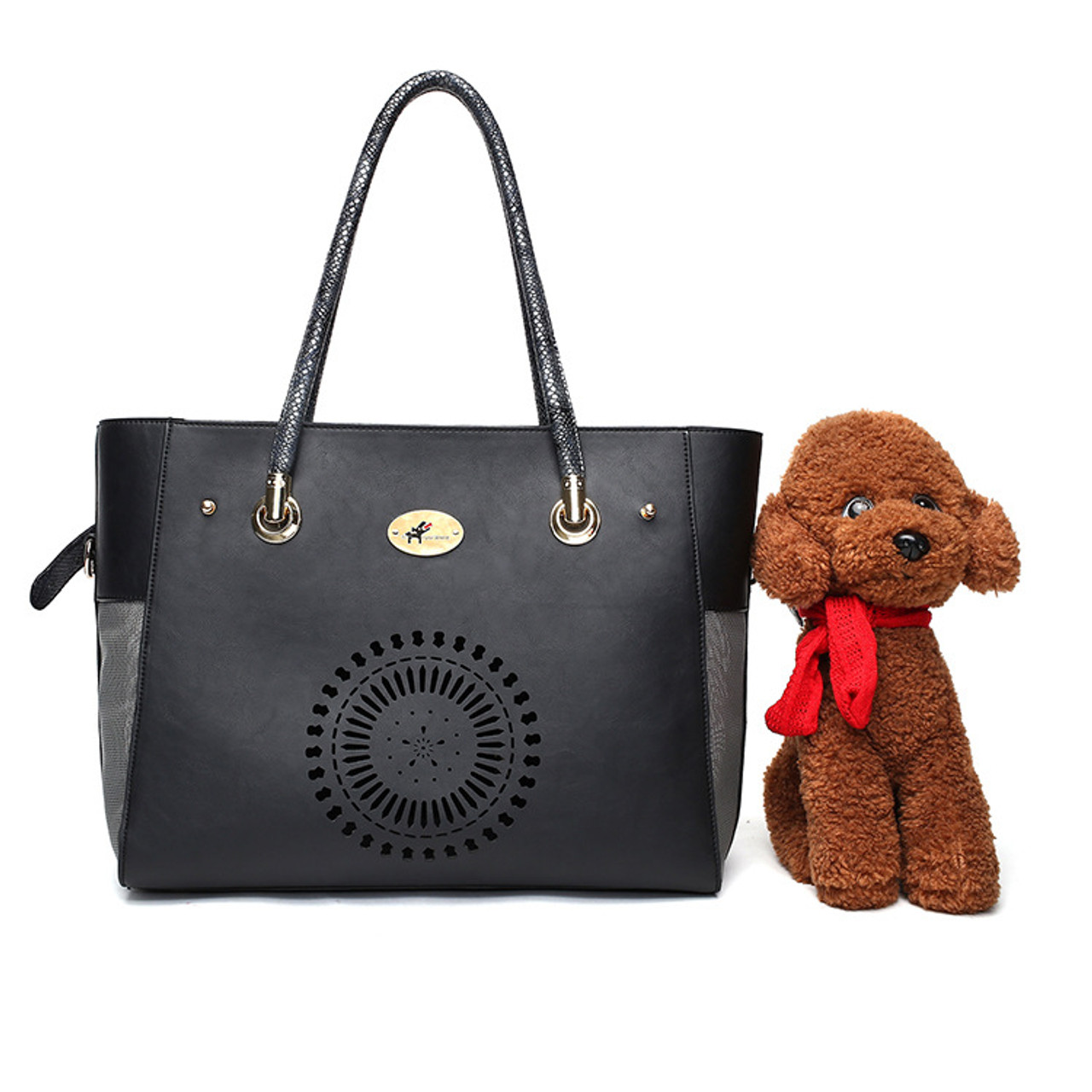 Outdoor Travel Walking Hiking Tote Around Town Pet Carrier Portable Dog  Handbag c0a5f57c54218