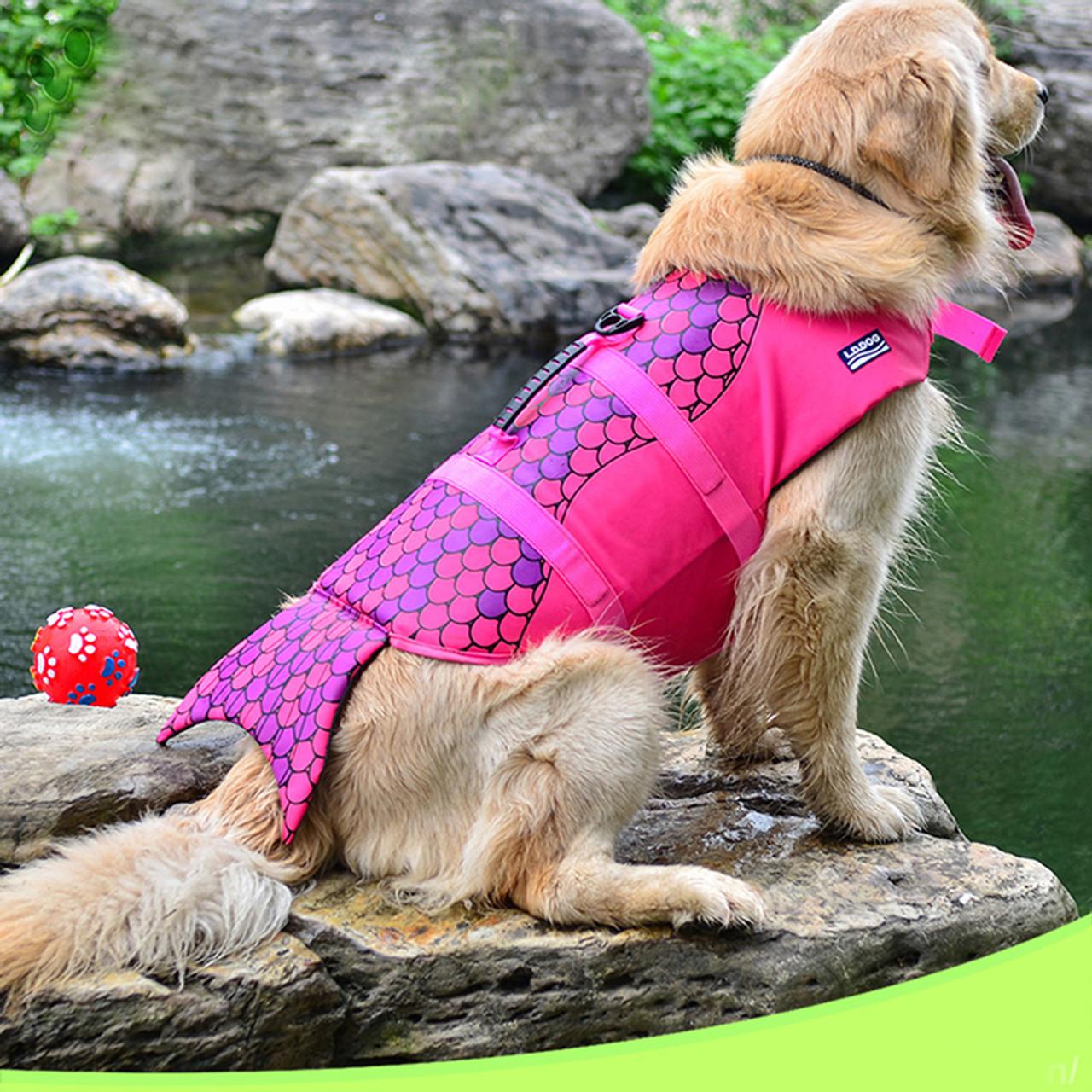 Life Jacket Safety Clothes For Dog Life Vest Summer Clothes Saver