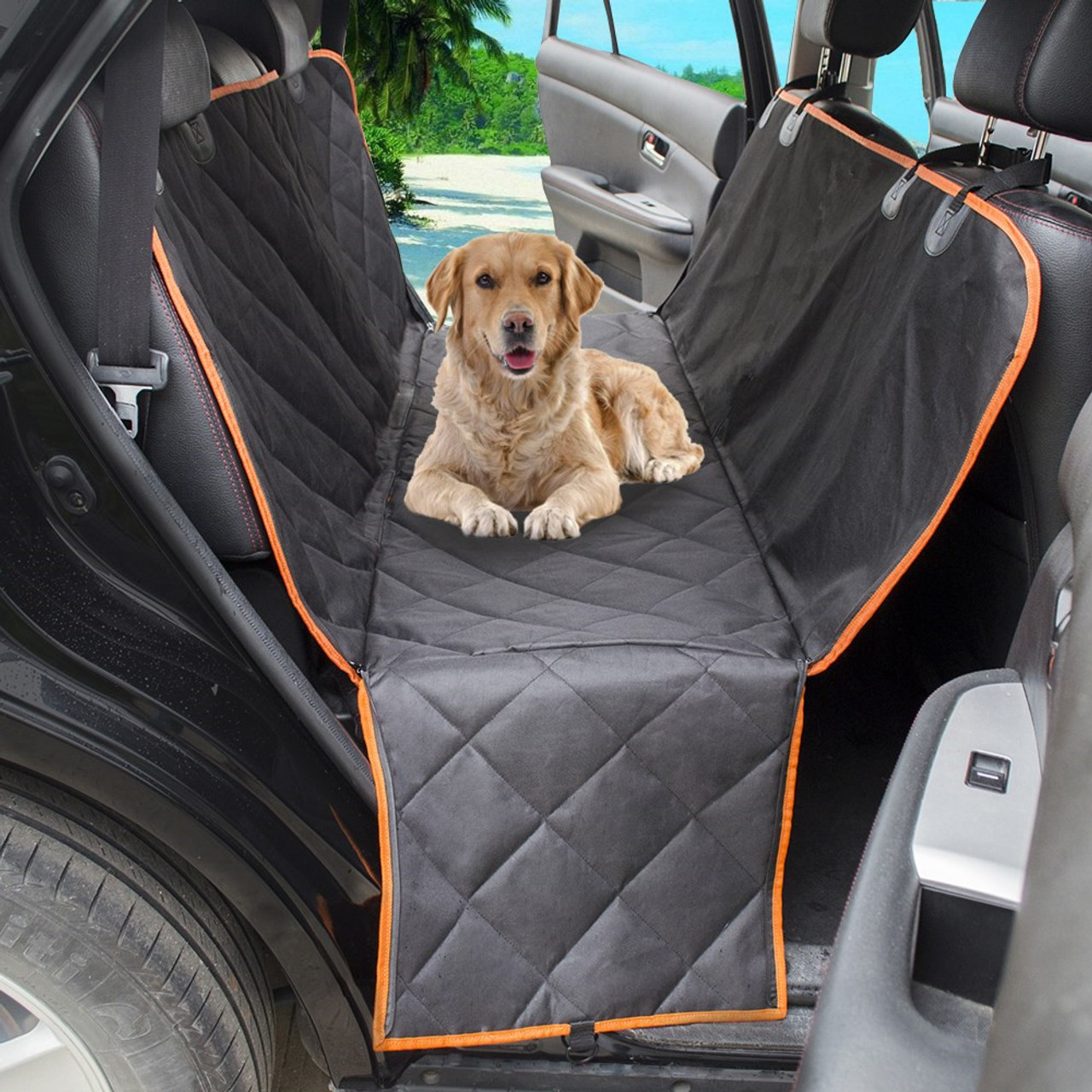 Waterproof Quilted Non Slip Pet Dog Car Seat Cover Hammock Pet Accessories Mat Blanket