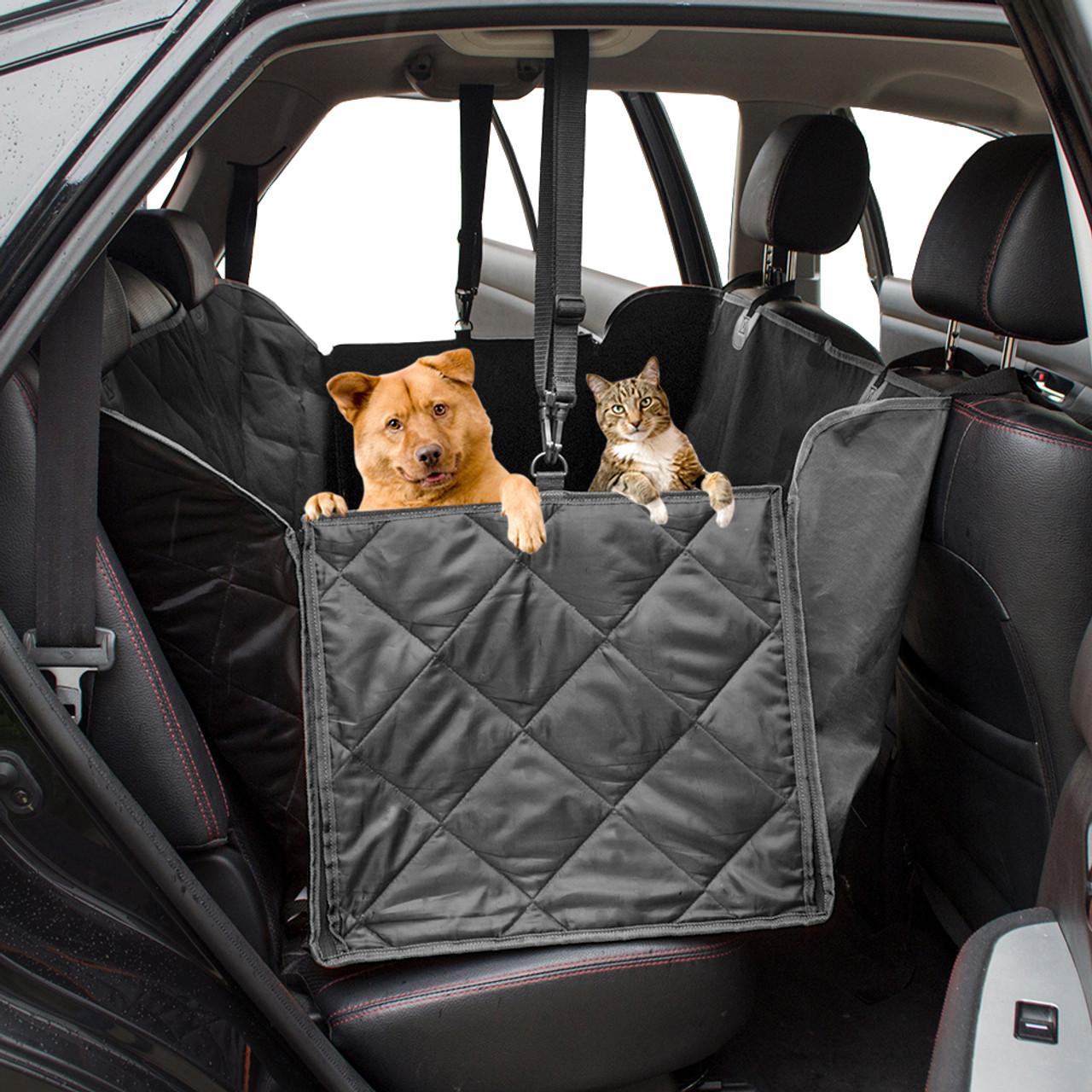 Pet Car Hammock >> Waterproof Quilted Non Slip Pet Dog Car Seat Cover Hammock Mat Blanket Back Seat Protector