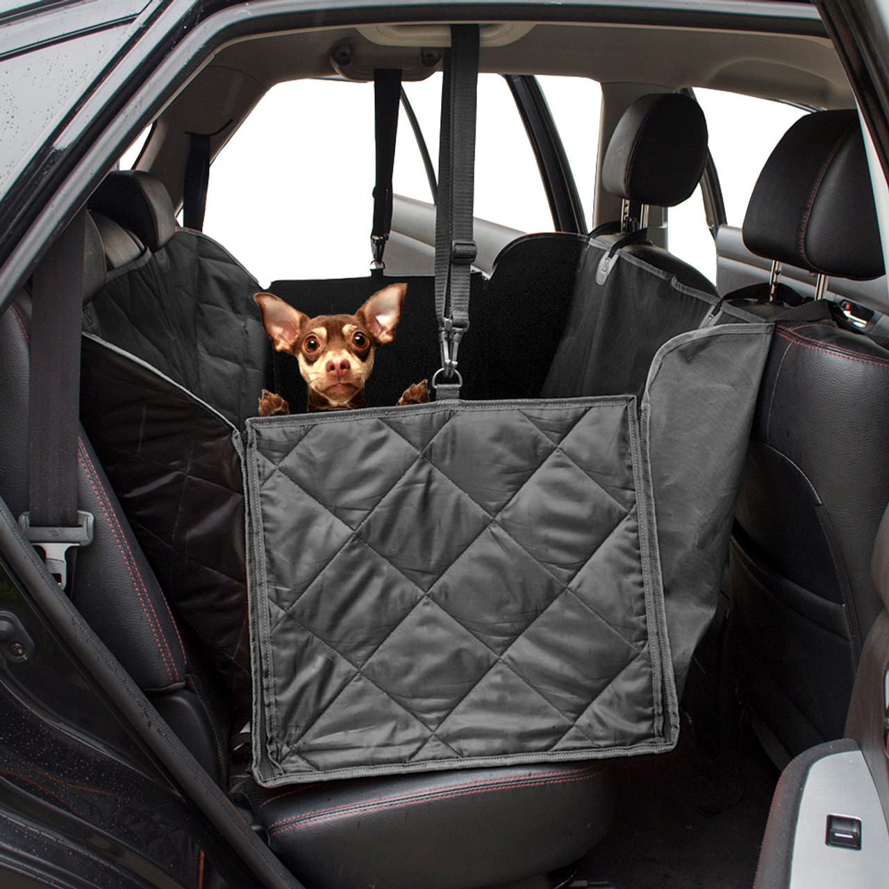 Dog Car Protector >> Waterproof Quilted Non Slip Pet Dog Car Seat Cover Hammock Mat Blanket Back Seat Protector