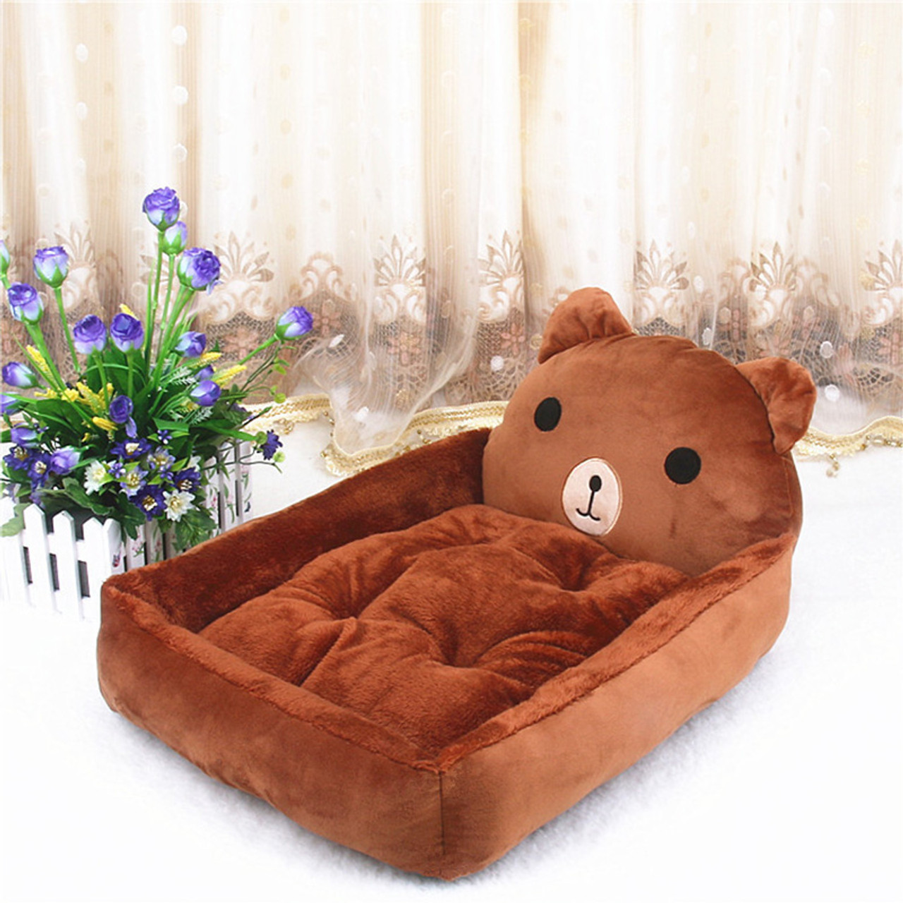 Big Blanket Supplies Dog Bed Pp Cotton Cute Animal Cartoon Shaped Warming Cat House Dog Beds