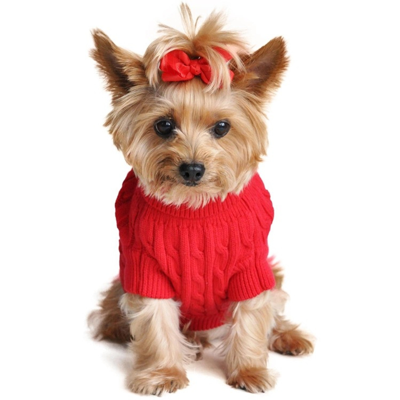 fce59764c5d5 2018 Pet Clothing Autumn And Winter Twist Knitting Puppy Sweater