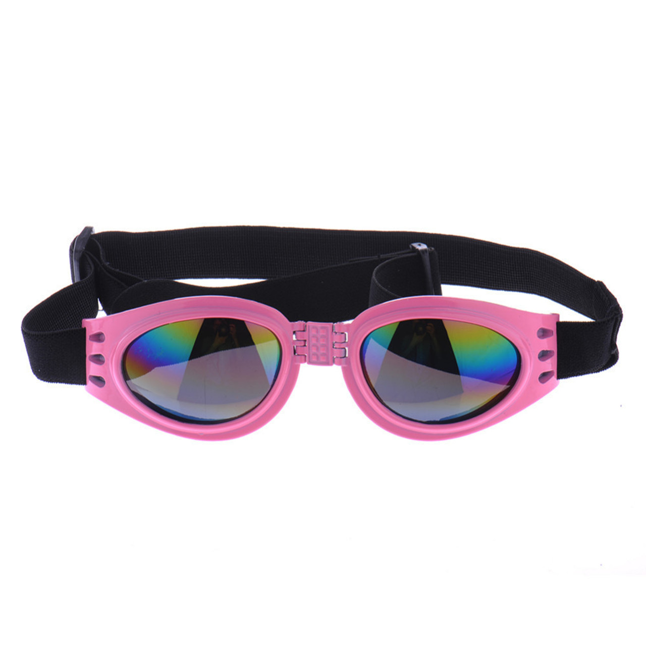 24a4b345c8c4d Pink Pet eyewear waterproof Dog Protection Goggles UV Sunglasses