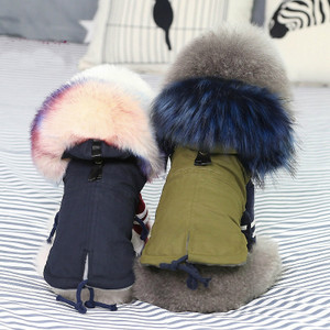 9033aeefe0d Pet Clothes Warm Clothing for Small Dogs Winter Dog Doggie Down Jacket  Hoodie Coat ...