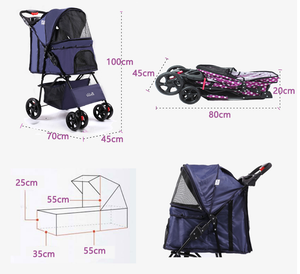Luggage & Bags Useful Travel Tale Small Animal Pet Puppy Rabbit Cat Carrier Backpack Luggage Travel Tote Trolley Bags For Dogs Stroller Cart Easy To Repair