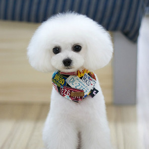 Triangular Bandage Leisure Dog Scarf For Grooming Pet Fashion