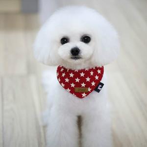 Leisure Dog Scarf For Pet Fashion Triangular Bandage Grooming