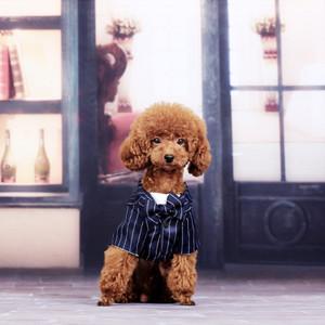 Puppy Outfits Formal Clothing Waistcoat Dog Tuxedo Bow Tie Wedding ...