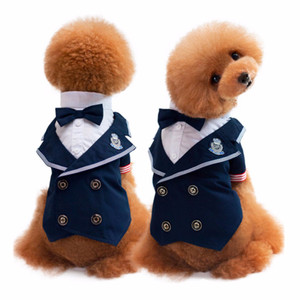 Groom Tuxedo Bow tie Wedding Suit Cute Puppy Dog Cats Gentleman Formal  Party Costume Apparel ... 5be3f86538fc
