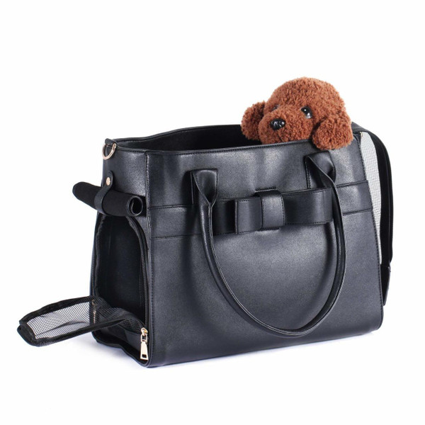 Dog Puppy Chihuahua Yorkie Kitten Airline Approved Fashionable Pet Handbag for Small Animals