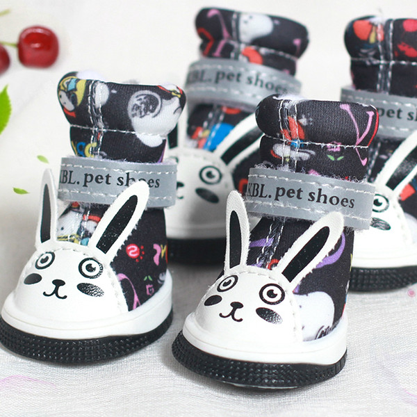 Dog Boots Waterproof Pet Paw Protector with Wear-resistant and Anti-Slip