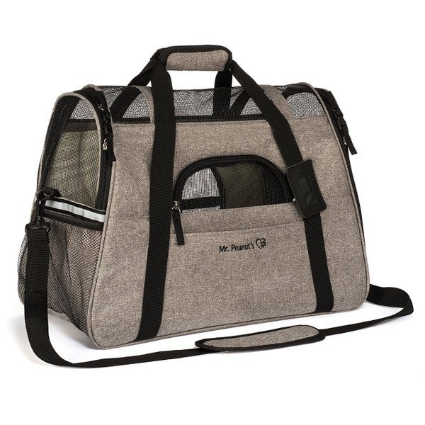 Soft Sided Luxury Travel Tote Airline Approved Pet Carrier