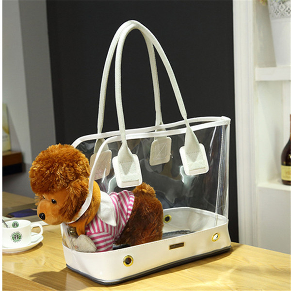 caabc0c7e132 Pet Backpack Transparent Cat Back Pack Carrier for Small Dog Kittens Travel  Carrier