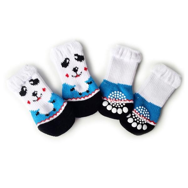 Dog Socks Anti-Scratch Anti-Slip Teddy Cat Shoes