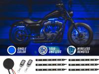 Advanced Blue SMD LED Mini Motorcycle Light Kit