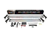 Million Color Wireless SMD LED Underbody Lighting Kit What's Included