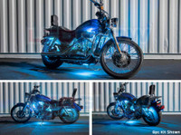 8pc Flexible Million Color Motorcycle Lighting Kit