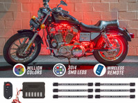 Flexible Million Color Motorcycle LED Lights